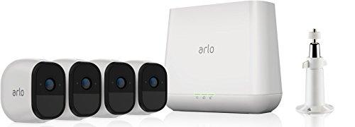 Arlo Pro Smart Home 4 HD-Überwachungskameras und Sicherheitssystem : Setzt neue Maßstäbe für kabellose Systeme