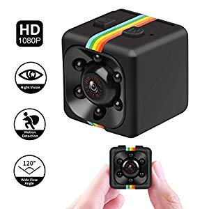 Hankermall Mini Kamera 1080P SQ11 HD Camcorder DV-Recorder Nachtsicht Sport DV Kamera Video Recorder Infrarot Auto DVR Kamera Bewegungserkennung : No complaints especially with this price!