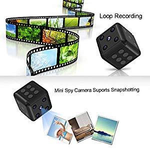 HankerMall Mini Versteckter Spion Kamera SQ16 1080P HD