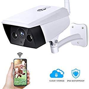 KAMTRON 1080P Überwachungskamera Aussen WLAN Kamera– IP66 Wasserdichtes WiFi Cloud Sicherheitskamera mit Bewegungserkennung Test- Endlich mal eine bezahlbare Outdoor Überwachungskamera