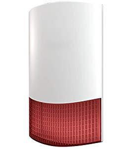 LGtron LG-HC105FP Funk Außensirene für  LGD8001 und LGD8003P oder als universale verdrahtete Außensirene für alle Alarmanlagen, Longhorn LHD 8003 top Gerät zum top Preis
