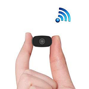 PNZEO Überwachungskameras  W3 Mini Kamera 1080P HD Drahtlose WiFi Remote View Home Sicherheit Kamera Super Mini Kameras Nanny Cam Kleine Recorder – Nach vielem Probieren endlich das beste gefunden